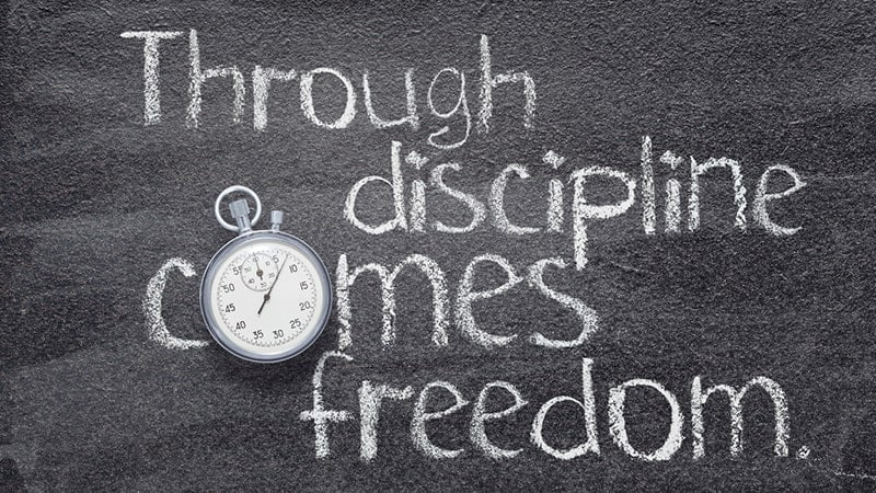 word of the month: self-discipline