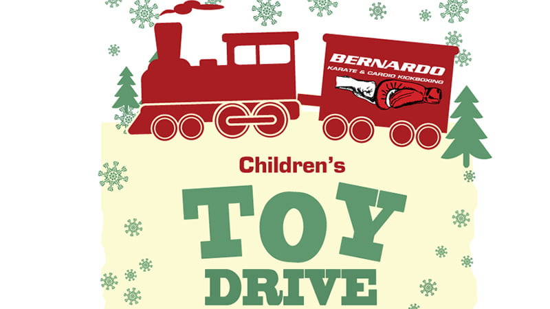 Children's toy drive poster