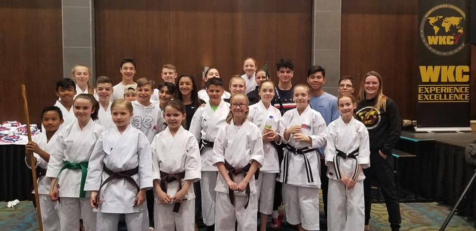 Here is a group shot of a few of our students at the 2019 Canadian Championships in Ottawa. Unfortunately it is difficult to get everyone together at the same time.