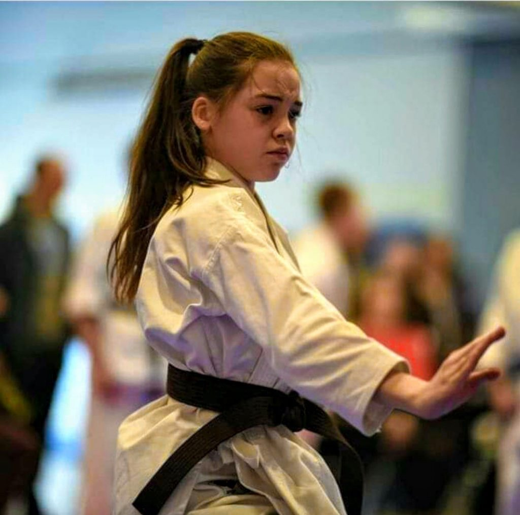 Bernardo Karate student posing