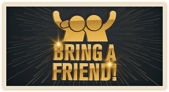 Bring a friend to karate class poster