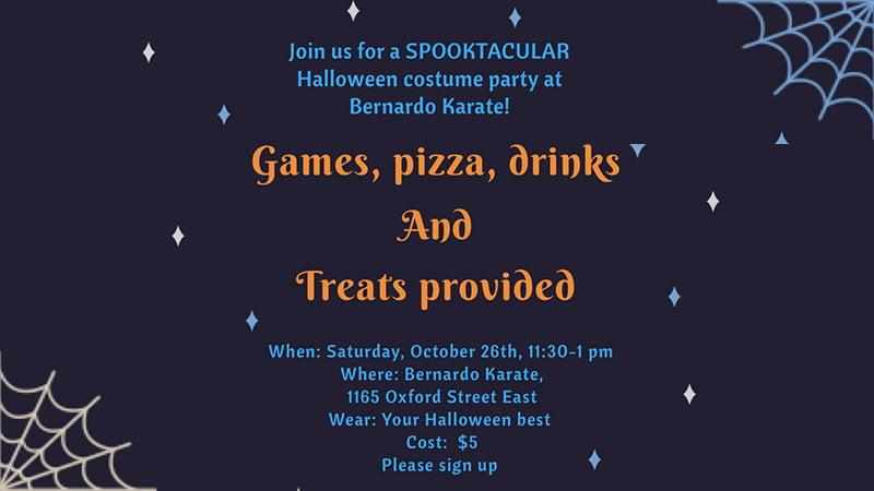 Oxford Hallowe'en Party