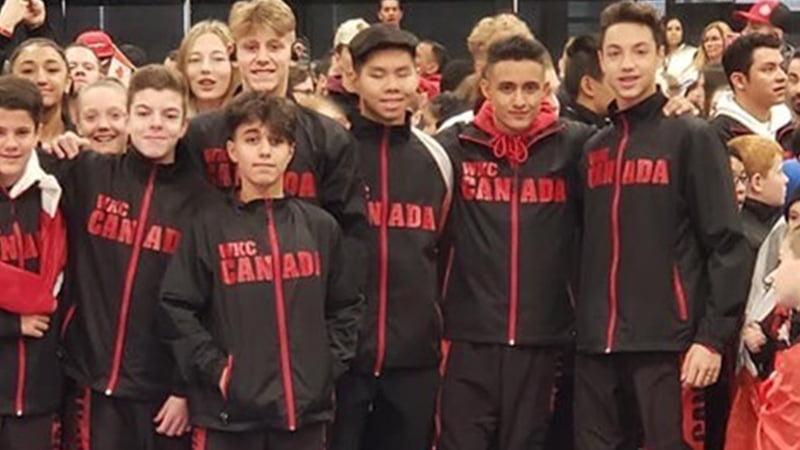 A few Bernardo Members at the WKC World Championships
