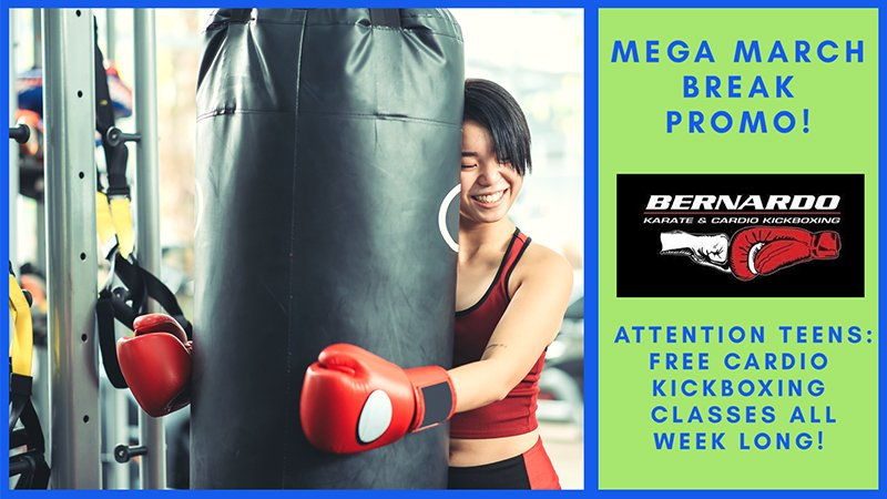 Free Cardio Kickboxing for Teens